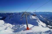 Blick von der Bergstation Richtung Eisee. (Bild: PD/Theo Schnider)