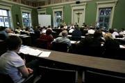 Ratssitzung des Zuger Stadtparlaments. (Archivbild (Neue ZZ))