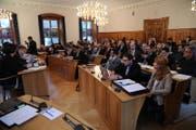 Für gewöhnlich tagt der Urner Landrat im Rathaus Altdorf. (Bild: Themenbild: Urs Hanhart)