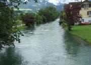 Bei anhaltenden Regenfällen könnte die Sarneraa über die Ufer treten. (Bild: Archiv Neue OZ)