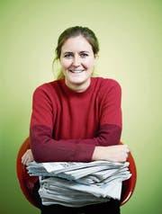 Rahel Hug (28) ist stellvertretende Chefredaktorin der «Zuger Zeitung». (Bild: Stefan Kaiser (Zug, 29. Dezember 2017))