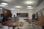 Symbolbild eines Klassenzimmers. (Bild: Markus Forte / LZ)
