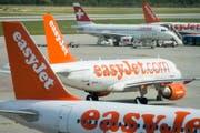 Easyjet ist in der Schweiz hinter der Swiss die Nummer 2. (Bild Keystone)