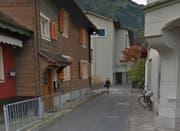 Hier beim Restaurant Chalet (links im Bild) hat sich der Unfall ereignet. (Bild Google Street View)