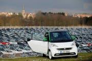 Smarts beim Werk im französischen Hambach. (Bild: EPA/Yoan Valat)