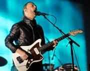 Thom Yorke von Radiohead bei einem Konzert 2012 am Coachella-Festival. (Bild: Keystone)