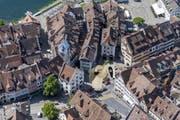 Der Trail führt auch zum Kolinplatz in Zug. (Bild: PD/Zug Tourismus)