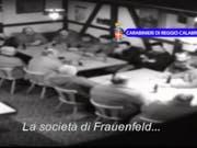 Mitglieder der Frauenfelder Mafia-Zelle in einem Polizeivideo von 2014. (Archiv) (Bild: KEYSTONE/CARABINIERI DI REGGIO CALABRIA)