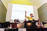 Luitgardis Sonderegger, Direktorin der Stiftung Rodtegg sagte, dass Menschen mit Behinderungen Anrecht auf eine angemessene Betreuung haben. (Bild Roger Grütter)