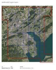 Luftbild des Modellperimeters (Bild: PD)