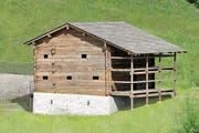 Das Niderösthaus am alten Standort in Schwyz. (Bild: PD)