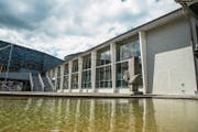 Die Schienenhalle 1 des Verkehrshauses soll einem Neubau weichen. (Bild: Dominik Wunderli (Luzern, 7. Juni 2017))