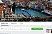 Die Facebook-Gruppe soll als Sprachrohr für Anliegen der Luzerner Bevölkerung dienen. (Bild: Screenshot / luzernerzeitung.ch)