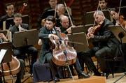 Der hervorragende Cellist Gautier Capuçon und die Festival Strings Lucerne ergänzten sich wunderbar. (Bild Pius Amrein)