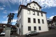 Das Rathaus in Stans, wo der Landrat jeweils tagt. (Bild Roger Zbinden/Neue NZ)
