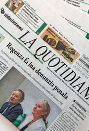 «La Quotidiana» hat rund 4000 Abonnenten. (Bild: Marc Melcher/SRF)