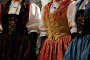 Annerkennungspreis von je 15'000 Franken für die kantonalen Trachtenvereinigungen Uri, Schwyz, Obwalden, Nidwalden und Luzern. (Bild: PD)