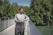 Eritreische Brückenbauer helfen ihren Landsleuten im Alltag: Der Umweltwissenschafter Samson Kidane ist einer von ihnen. (Bild: Pius Amrein (Aarau, 6. Juli 2017))