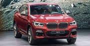 Der BMW X4 als neuer SUV in der Kompaktklasse. Bild: KEY (Bild: KEY)
