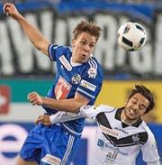 Hat beim OSC Lille noch einen Zweijahresvertrag bis Mitte 2018: FCL-Leihspieler Michael Frey. (Bild: Keystone/Marcel Bieri)