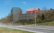 Visualisierung des geplanten Schulhauses Waldegg in Sempach. (Bild: pd)