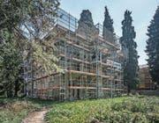Die Bodum-Villa im Obergrund. (Bild: Pius Amrein (Luzern, 12. April 2017))