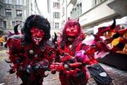 Die Teufel. (Bild: Manuela Jans / Neue LZ)