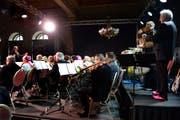 Die Vereinigten bei ihrem Konzert im Schweizerhof. (Bild: Nadia Schärli / Neue LZ)