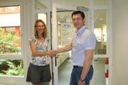 Bruno Thalmann übernimmt die Leitung des Regionalen Arbeitsvermittlungszentrums (RAV) Zug von Vorgängerin Manuela von Arx. (Bild: pd / Verein für Arbeitsmarktmassnahmen VAM)