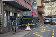 An der Baselstrasse in Luzern wurde kürzlich ein Mann erstochen. Das Opfer war ein 34-jähriger Eritreer, wie die Luzerner Polizei mitteilte. (Bild: Dominik Wunderli (2. November 2017))