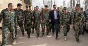 Der Druck auf Syriens Machthaber Baschar al-Assad und seine Armee wächst. (Bild: EPA (Ost-Ghuta, 18. März 2018))