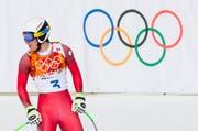 Welche Region holt sich die fünf Ringe im Jahre 2026? Unser Bild zeigt den Schweizer Skifahrer an den Olympischen Winterspielen in Sotschi 2014. (Bild: Keystone)