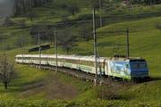 Auf direktem Weg von Luzern nach St. Gallen: Der Voralpen-Express fährt auch durch den Kanton Schwyz. (Bild: PD)