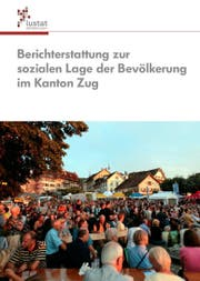Die Titelseite des Berichts zur sozialen Lage der Bevölkerung im Kanton Zug. (Bild: PD)