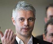 Neuer Chef der französischen Konservativen: Laurent Wauquiez (42). Bild: Bob Edme/Keystone (Bild: Bob Edme/Keystone)