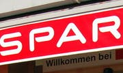 Das Spar-Logo. (Archivbild Andreas Oppliger/Neue SZ)