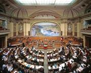 Nicht alle neuen Parlamentarier sind gleich gut in die Bundespolitik eingestiegen. (Bild: Gaetan Bally/Keystone)