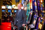CEO Wolfgang Bliem im Casino Luzern. (Archivbild Dominik Wunderli)