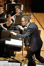 Unter Dirigent Hervé Grélat wurde im KKL das klangliche Potenzial eindrucksvoll genutzt. (Bild: Manuela Jans-Koch)