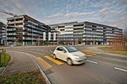 In diesem Gebäudekomplex, der Überbauung Buchenhof in Sursee, sollen Wohnungen gegen geltendes Recht belegt worden sein. (Bild Pius Amrein)