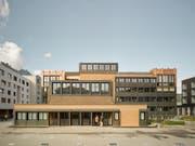 Das 2015 fertig sanierte und umgebaute Gemeindehaus Horw ist der Publikumsgewinner. (Bild: PD)