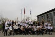 Die Jugend Brassband Luzern, hier die A-Band. (Bild: Buergermusik.ch)