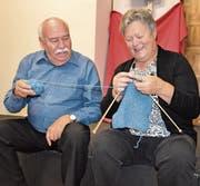 Hugo Blaser und Vreny Aregger stehen seit den 60er-Jahren gemeinsam auf der Bühne. (Bild: Yvonne Imbach)