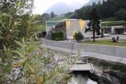 Das Kraftwerk der Elektrizitätswerk Altdorf AG in Bürglen. (Bild: Urs Hanhart / Neue UZ)