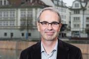 Er ist der Kandidat der SP für den Luzerner Stadtrat oder gar das Präsidium: Beat Züsli. (Bild: Dominik Wunderli / Neue LZ (Archiv))