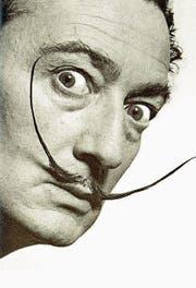 Salvador Dalí 1953. (Bild: AP/Philippe Halsman Archive)