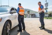 Die Polizei nahm drei Autofahrern den Führerausweis ab. (Symbolbild Keystone)