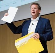 Fühlt sich missverstanden: Thomas Baur, der Leiter der Poststellen. (Bild: Peter Klaunzer/Keystone)