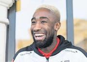 In der Nati hat er Grund zum Strahlen, beim HSV ist er in Ungnade gefallen: Johan Djourou. (Bild: Cyril Zingaro/Keystone (Lausanne, 20. März 2017))