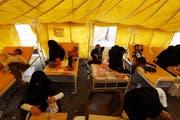 Jemen Cholera (Bild: Keystone, Sanaa, 6. Juli 2017)